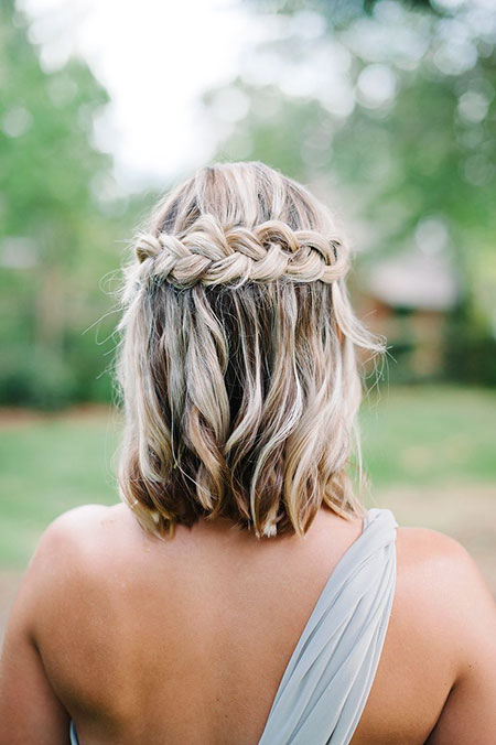 Waterfall Braid Hair, Wedding Hair Braid Hairtyles