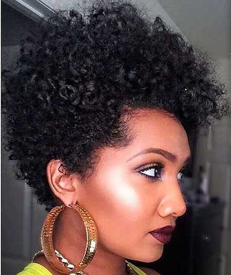 Natural Hair Cute Short