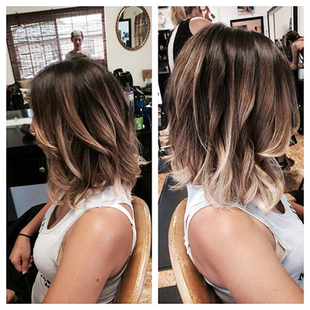 Hair Bob Ombre Color
