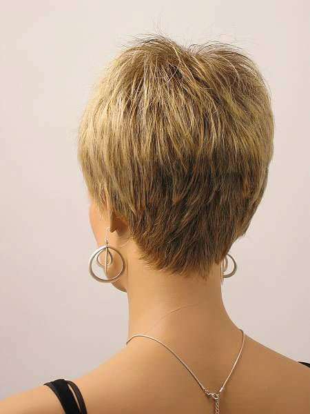 Back View, Short Hair Women Over