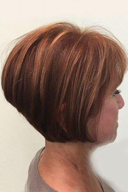 Copper Bob Hairtyle Hair