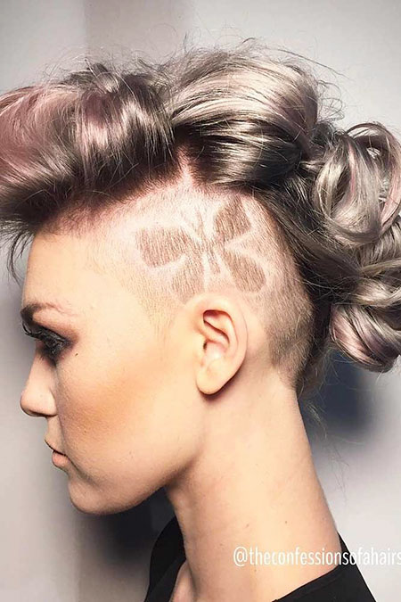 Hair Women Updo Undercut