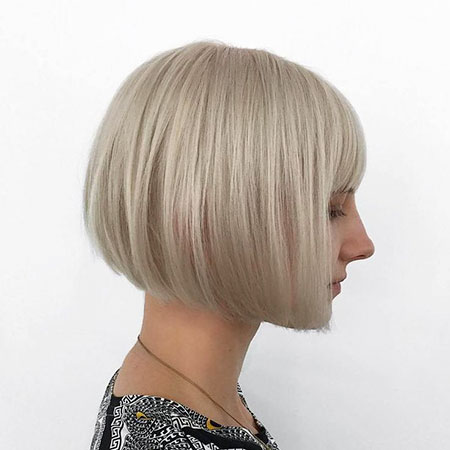 Bob Blonde Length Haircuts