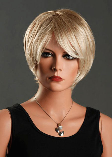 Short Hair Women Wig