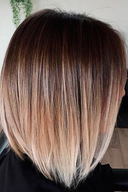 Ombre Hair Color Brown