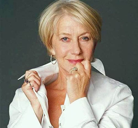 Thin Hair, Women Over Mirren Helen