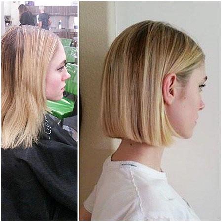 Bob Haircuts Blunt Straight