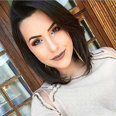 Best Short Haircuts for Oval Faces, Short Jenner One Oval