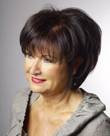 Short Haircuts for Older Women, Short Hair Older Women