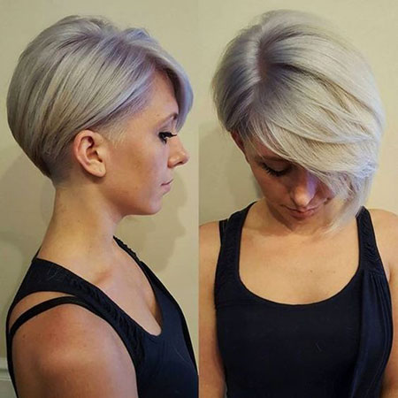 Short Pixie Undercut Shaved