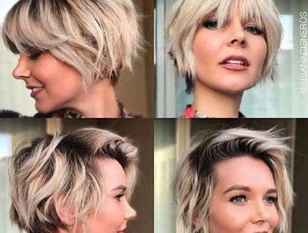 Pixie Short Gray Choppy