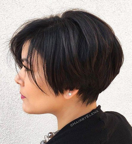 Bob Thick Layered Pixie