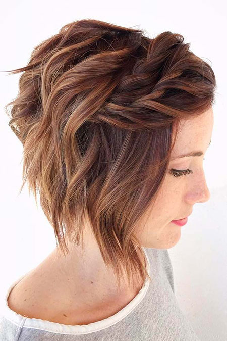 Short Bob Prom Layered