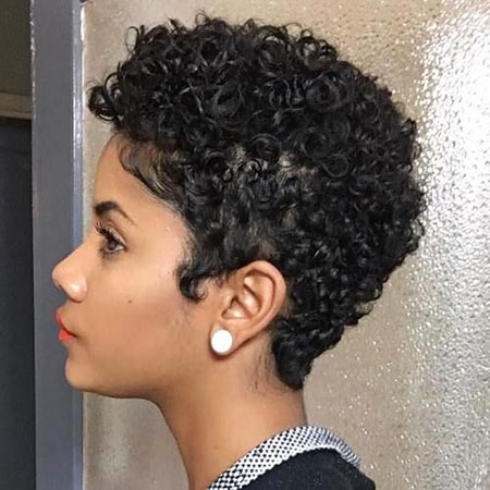 Natural Short Curly Hairtyles