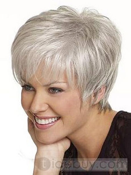 Short Hair Grey Haircuts
