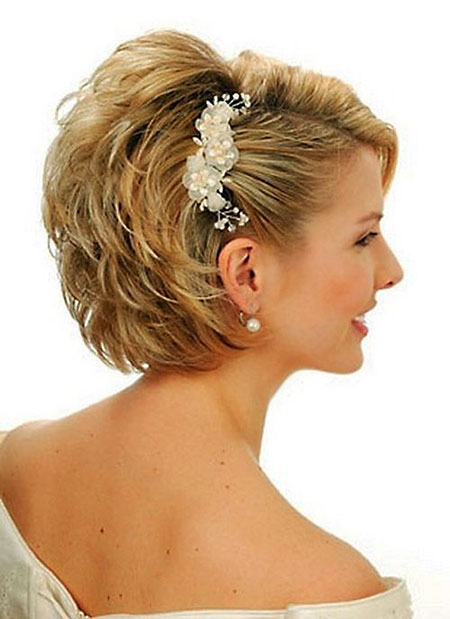 Wedding Hair Short Bridal