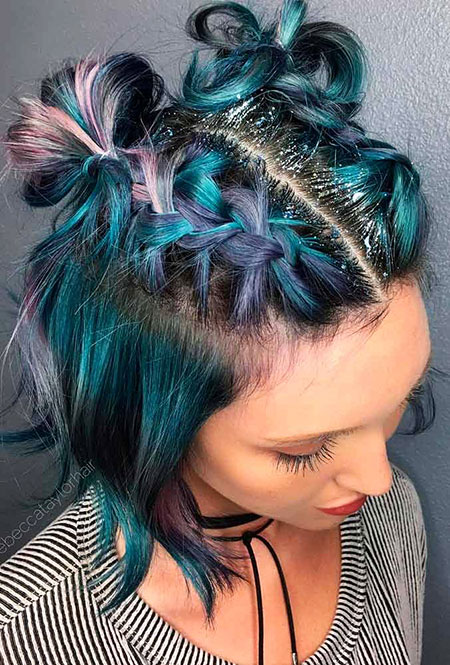 Hair Short Color Prom