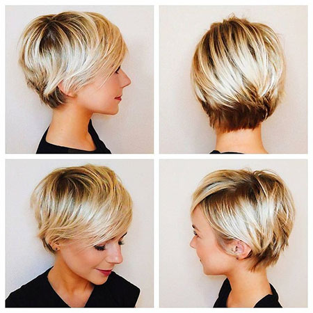 Short Pixie Women Haircuts