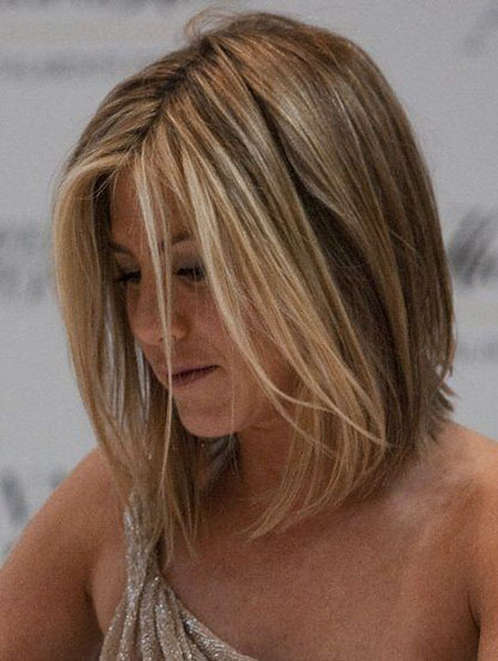 Blonde Bob Aniston Jennifer