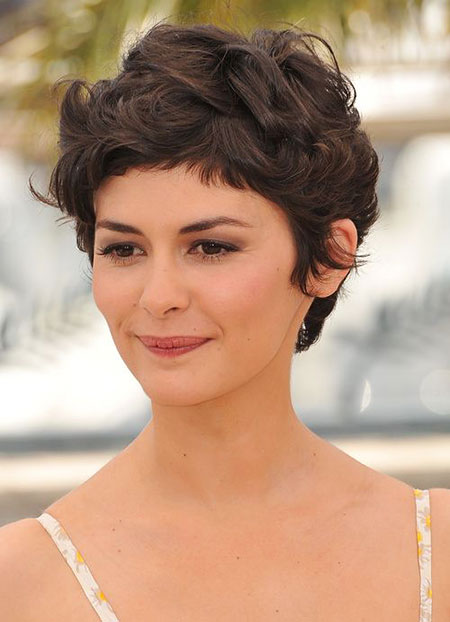 Pixie Curly Thick Short