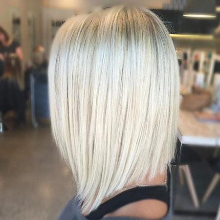 Blonde Short Cut Hair