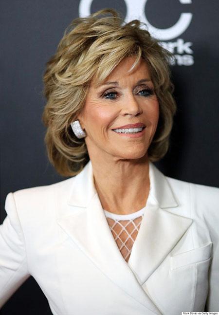 Trendy Jane Fonda Short