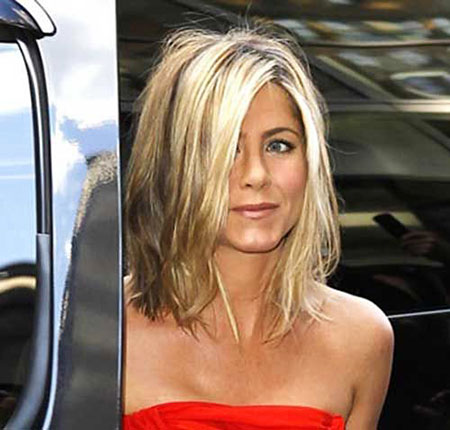 Aniston Jennifer Short Bob