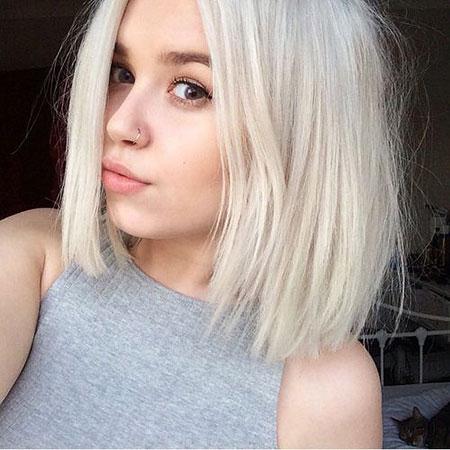 Short Hair Brown Blonde