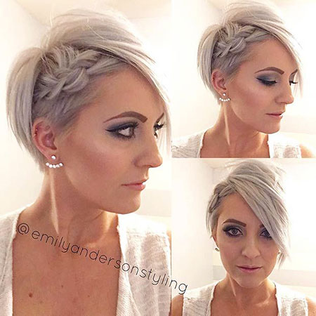 Pixie Short Side Braid