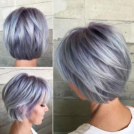 Bob Short Hair Lavender