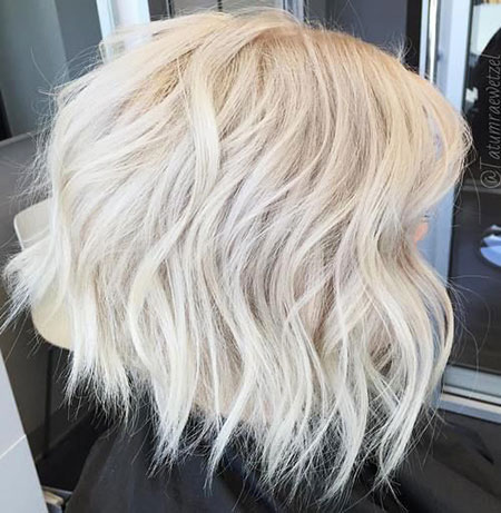 Hair Bob Short Platinum