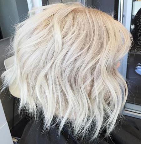 Hair Bob Short Platinum