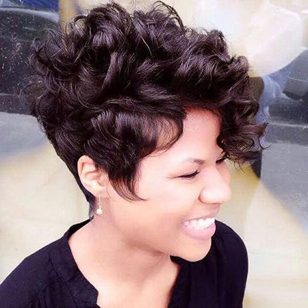 Curly Short Hair 2017
