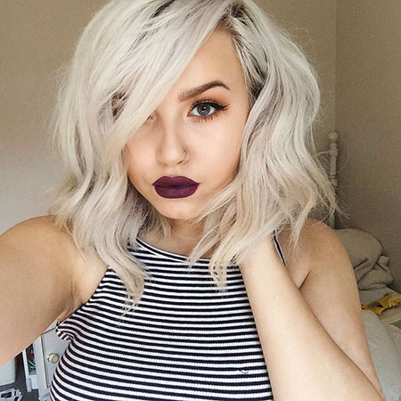Short Blonde Hair Platinum