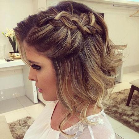 Prom Hairtyles Short Hair