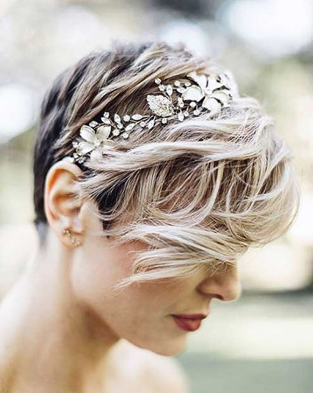 Wedding Hair Short Updo