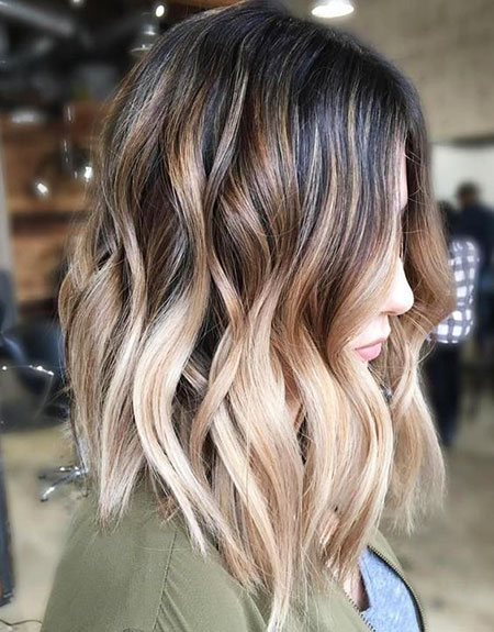Ombre Color Hair Blonde