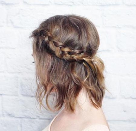 Short Messy Hair Prom