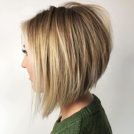 Bob Blonde Balayage Inverted