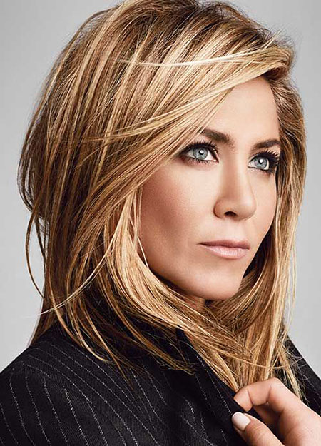 Aniston Jennifer Color Hair