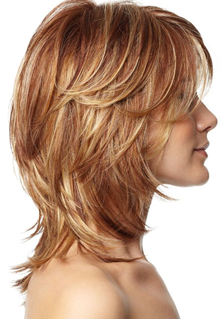 Short Layered Hair Bob