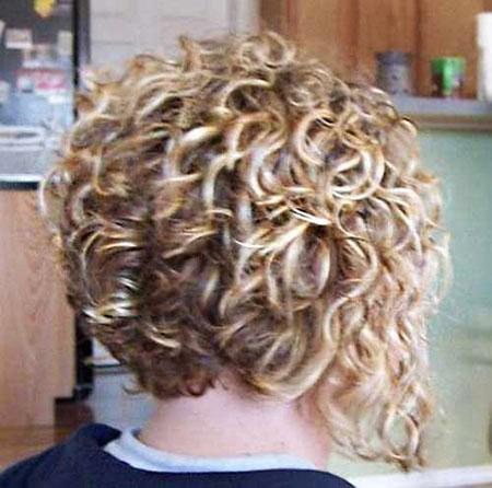 Curly Perm Hair, Curly Bob Short Perm