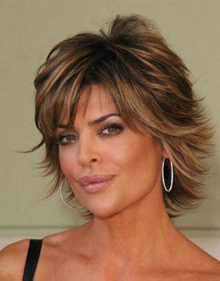 Short Hair Layered Rinna