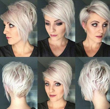 Short Bangs Hair Choppy