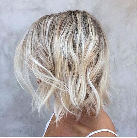 Blonde Balayage Hair Ash