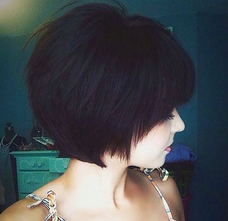 Layered Short Thick Pixie