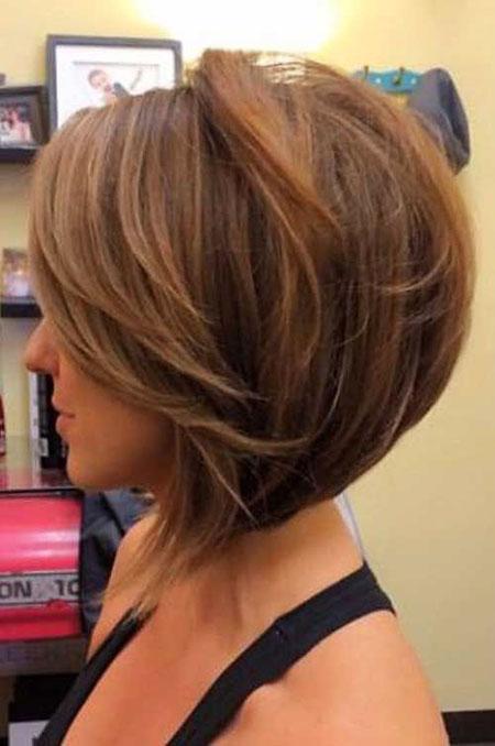 Bob Women Layered Hair