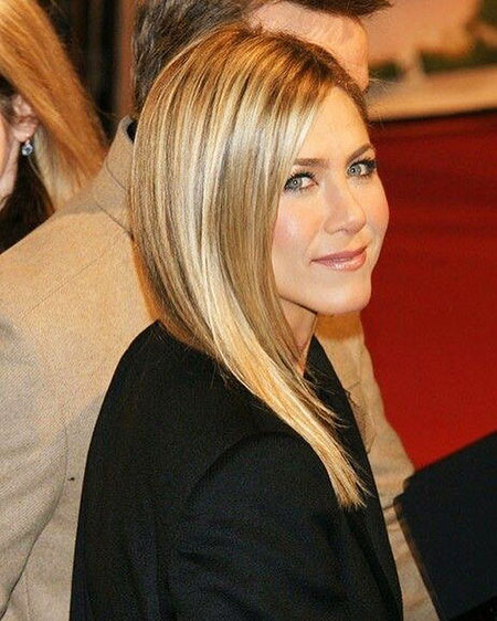 Aniston Jennifer Hair Bob