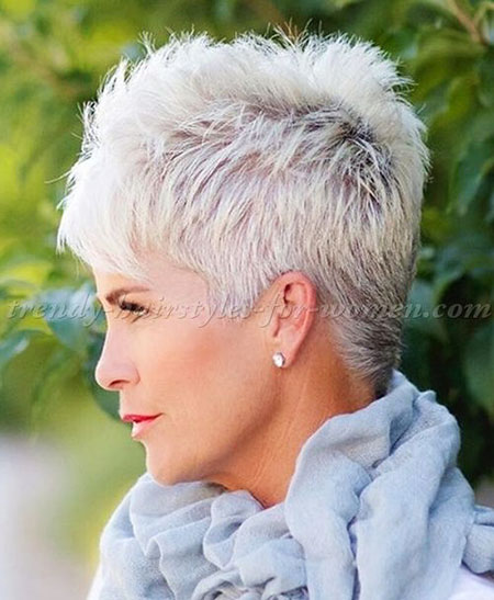 Short Pixie Women Hair