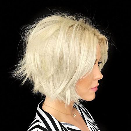 Blonde Bob Wavy Platinum